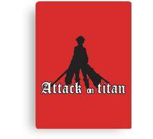 attack on titan Canvas Print