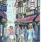 London Court, Perth by Virginia  Coghill