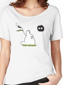 ghibli plankton Women's Relaxed Fit T-Shirt