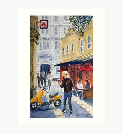 Bank Place, Melbourne Art Print