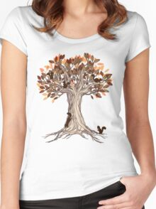 Little Visitors Women's Fitted Scoop T-Shirt