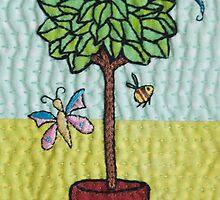 Summer Tree by julie bull