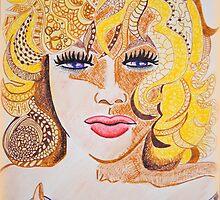 Lady Cornered  by Sacha  Whitehead