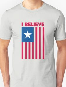 I Believe That We Will Win Unisex T-Shirt