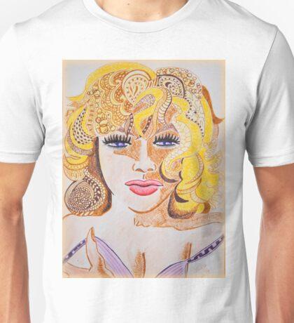 Lady Cornered  Unisex T-Shirt