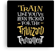 Train for the Triwizard Tournament Canvas Print