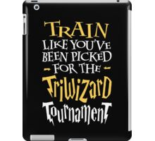 Train for the Triwizard Tournament iPad Case/Skin