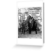 Lincoln: Dipped in Handsome Batter Greeting Card