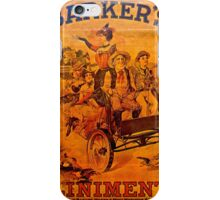 Vintage Ad Barkers Liniment iPhone Case/Skin