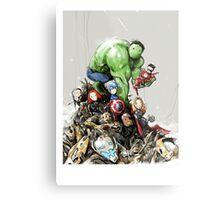 'little Avengers' Metal Print