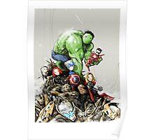 'little Avengers' Poster