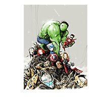 'little Avengers' Photographic Print
