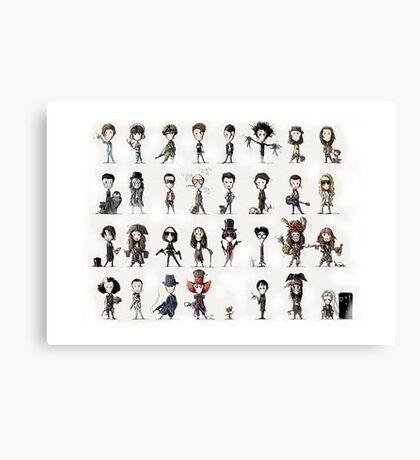 'little Depp' Canvas Print