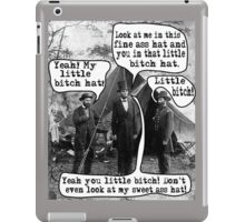 Abe Lincoln and the Little Bitch Hat iPad Case/Skin