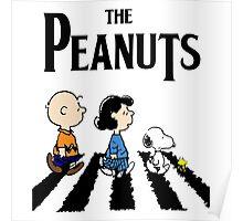 Peanuts Beatles Poster