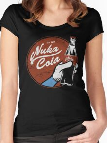 Nuka Cola Women's Fitted Scoop T-Shirt