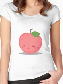 Cute Tropical Fruits - Lychee Women's Fitted Scoop T-Shirt