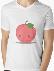 Cute Tropical Fruits - Lychee Mens V-Neck T-Shirt