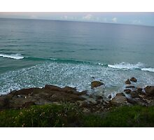 Waves Rolling in. Photographic Print