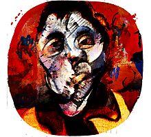 Boxing Bacon Photographic Print