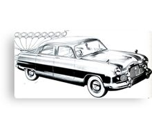 50's Retro Car 1 Canvas Print