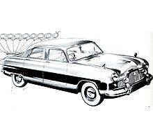 50's Retro Car 1 Photographic Print