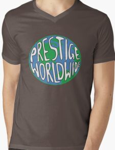 Prestige Worldwide Mens V-Neck T-Shirt