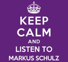 Keep Calm and listen to Markus Schulz by artyisgod