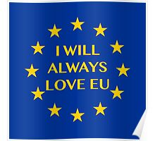 I will always love EU Poster
