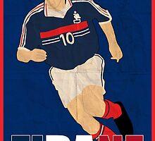Zinedine Zidane by sdbros