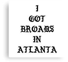 Desiigner - Broads In Atlanta Canvas Print