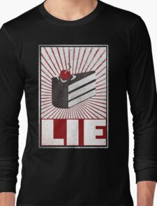 We want the truth! Long Sleeve T-Shirt