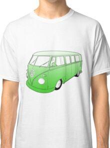 Green VW Camper Classic T-Shirt