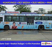 Vehicle Wrap Advertising - Global Advertisers  by sanjeevgupta