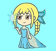 Dynasty Warriors x Frozen - Wang Yuanji x Elsa by gaming123456
