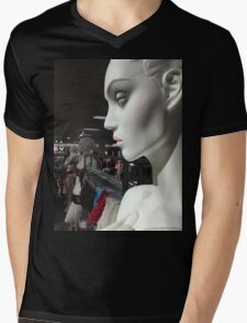Statues of the gods / In the Hall of Aphrodite III Mens V-Neck T-Shirt