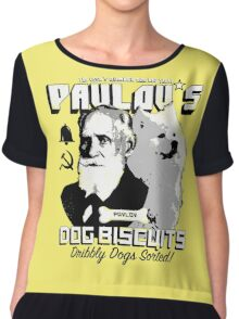 Pavlov's Dog Biscuits Chiffon Top