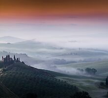 Belvedere Dawn Panorama by Alistair Wilson