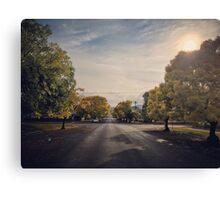 Autumn Street View, Crookwell NSW  Canvas Print