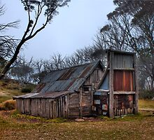 Wallace Hut, High Country Victoria by JAPhotographic