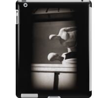 You cannot see the future without eyes iPad Case/Skin