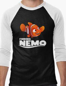 A Fish Funny Men's Baseball ¾ T-Shirt