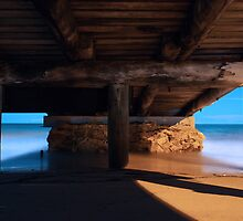 Under the Boat Ramp by Joel Bramley