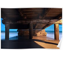 Under the Boat Ramp Poster