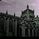 Dusk Falls at Bristol Cathedral by Carol Bleasdale