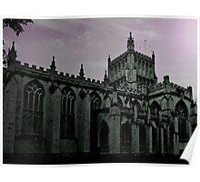 Dusk Falls at Bristol Cathedral Poster