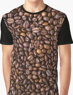 coffee bean all over print Graphic T-Shirt
