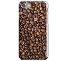 coffee bean all over print iPhone Case/Skin
