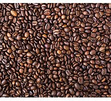 coffee bean all over print Photographic Print