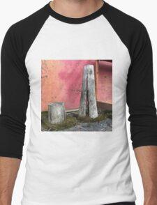 'Pillar house at home' The Accidental Pilgrim Men's Baseball ¾ T-Shirt